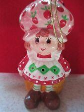 Vtg~ Strawberry Shortcake Ornament ~ Ceramic Potpourri Air Freshener~ 1983