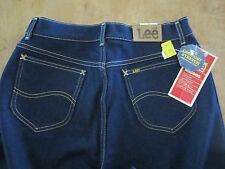 Vintage MISSES RIDERS BY LEE Dk Blue Jeans Size Skinny High Waist MADE IN USA
