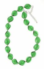 Emerald Glass Costume Necklaces & Pendants