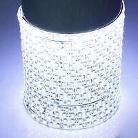 12V 5M 600LED SMD 3528 White Flexible Strip Car Light Waterproof Super Bright US