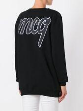 % 100 Authentic Women Carpet logo Sweatshirt black