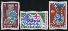 French Polynesia 1970 PATA set Sc# 258-60 NH