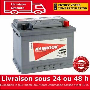 Hankook 56219 Batterie de Démarrage Pour Voiture 12V 62Ah - 242 x 174 x 190mm