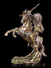 Figura de Indio- cacique War Cry - Veronese Guerrero Western caballo Decoración