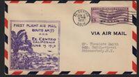 1932 First Flight AM33 El Centro California