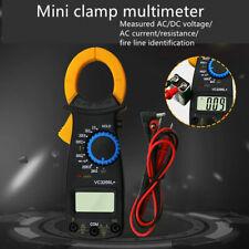 VC3266L Digital Clamp Meter Multimeter Handheld RMS AC/DC Mini Resistance