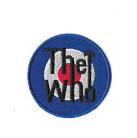 THE WHO Iron on / Sew on Patch Embroidered Badge Music Band English PT311