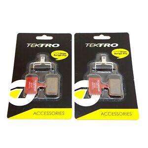1 or 2 Pairs TEKTRO P20.11 Bp69a Bicycle Disc Brake Pads Metal Ceramic Compound