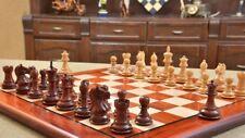 "Staunton Series Chess Pieces & Board Combo in Sheesham & Box Wood - 2.6"" King"
