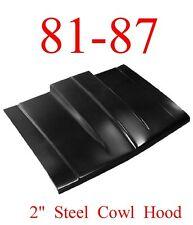 "81-87 Cowl Hood 2"" Chevy GMC Truck, Blazer, Suburban KeyPart 0851-035"