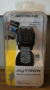 New! Scosche myTREK Wireless Pulse Monitor Made for iPod/iPhone [DISCONTINUED]