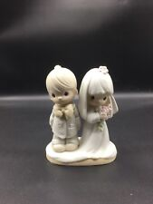 Precious Moments - The LORD Bless You And Keep You Marriage Cake Topper !