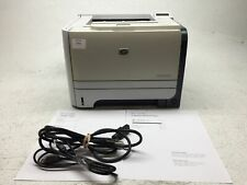 HP LaserJet P2055dn Monochrome Printer w/ Toner CE459A, Tested , Works 8 Pages