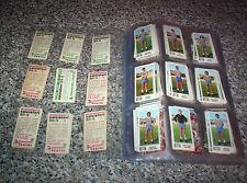 CALCIATORI PANINI 1974-75 SET COMPLETO DI 620 FIGURINE CON VELINA + MANCOLISTE
