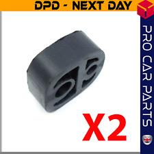2X Exhaust Mounting Rubber Fits Citroen Berlingo Peugeot Partner 7551681