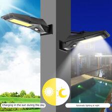COB 96LED Solar Power Wall Lamp Outdoor Garden Yard Street Motion Sensor Light
