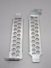 Pair of Lenovo ThinkCentre Half Height Rear Blanking Plates