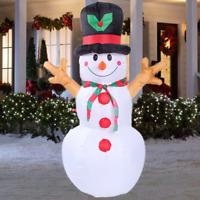 160cm Weihnachten Aufblasbar Schneemann Deko Weihnachten Figur Weihnachtsdeko