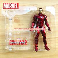 Marvel Iron Man Tony Stark Avengers Legends Comic Heroes 7in Action Figure Toy