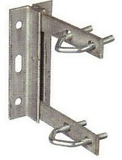 TV Aerial Mounting  Bracket 6x6 Strong Welded Construction Galvanised + U Bolts