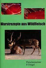 61 Schinken und Wurstrezepte aus Wildfleisch als PDF Datei