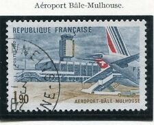 TIMBRE FRANCE OBLITERE N° 2203 AEROPORT BALE MULHOUSE / Photo non contractuelle