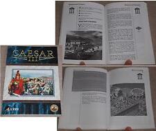 Manual de usuario Caesar III sierra 1998 en alemán