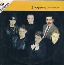 CD SINGLE 2 TITRES--BOYZONE--PICTURE OF YOU--1997