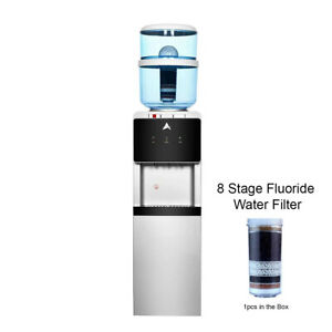 Water Cooler Dispenser Stand hot cold Ambient Taps Fluoride Water Filter Aimex