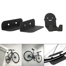 3 Pcs Wall Mounted Bicycle Stands Steel Support Bike Cycling Pedal Tire Hanger