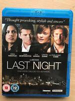 Keira Knightley Sam Worthington Last Night Erótica Romántica Drama 2010GB