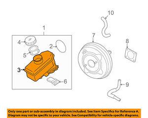 NISSAN OEM-Brake Master Cylinder Reservoir 46091JK30A
