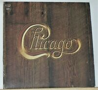 Chicago V - Original 1972 LP Record Album with Poster & Photos - Vinyl Excellent