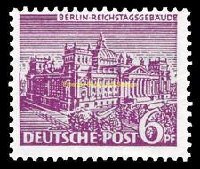 EBS West Berlin 1949 Berlin Buildings (I) - Reichstag Building Michel 45 MNH**