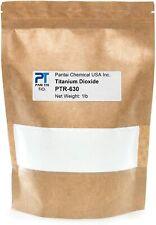 Pure Titanium Dioxide Cosmetic Grade Pigment Colorant Resealable Pouch PTR-630