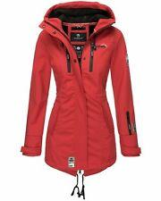 Marikoo Ladies Soft Shell Jacket Autumn Softshell Outdoor Rain Winter