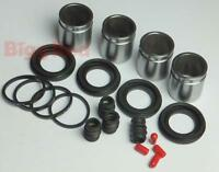 Ford Ranger 1998-2014 FRONT Brake Caliper Seal & Piston Repair Kit (2) BRKP102