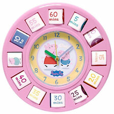 Children's Peppa Pig Clocks
