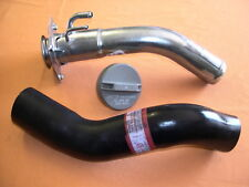 NAVARA  LONG RANGE OR DROPSIDE TRAY FUEL TANK FILLER PIPE NECK  +  CAP AND HOSE
