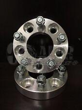 "2 X Mustang GT Wheel Spacers 1"" Adapter Aluminum Set 5 Bolt Lug Hub 5x4.5"