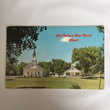 Cal Farley's Boy Ranch Amarillo Texas Unposted Postcard