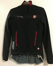 Castelli Women's Gabba Windstopper Long Sleeve Cycling Softshell Jacket XS Black