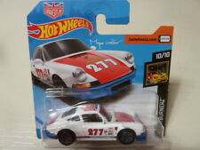 HOT WHEELS 2018 PORSCHE 911 1971 MAGNUS WALKER(chassis bleu, jantes grises)