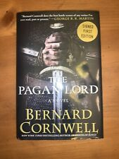 The Pagan Lord by Bernard Cornwell 2014 1st Us Edition Signed Harper Collins