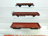 BR477-0,5# 3x Märklin H0/AC Güterwagen DB KK (1x NEM): 4694 etc, sehr gut