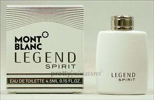 ღ Legend Spirit - Mont Blanc - Miniatur EDT 4,5ml *New 2016*