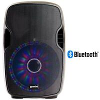 "Gemini Pro DJ Equipment Audio 15"" Inch Bluetooth Multi-LED PA System Speakers"