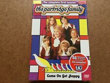 THE PARTRIDGE FAMILY COMPLETE FIRST SEASON DVD SET NEW & SEALED