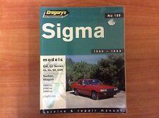 Gregory's Automotive Sigma - Service & Repair Manual - No 189 - 1980/1983