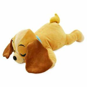"Disney Authentic Lady & the Tramp Lady Cuddleez Plush 25"" Toy Pillow"
